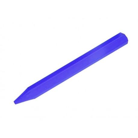 Kreda do betonu metalu drewna itp. niebieska