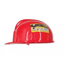 Kask budowlany czerwone CE