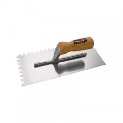 Paca nierdzewna ząb R10 300x130 uchwyt drewno