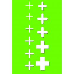 Krzyżyki dystansowe 1,5mm