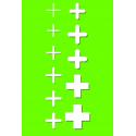 Krzyżyki dystansowe 3mm