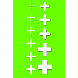 Krzyżyki dystansowe 5mm