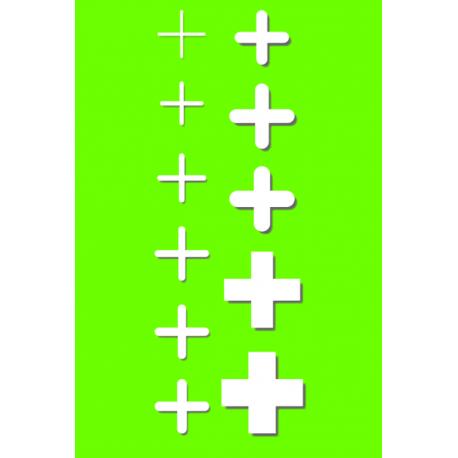 Krzyżyki dystansowe 8mm